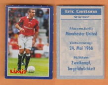 Manchester United Eric Cantona France (L)